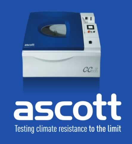 Ascott - Labaratorijska oprema za testiranje na koroziju